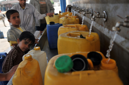 acqua ai palestinesi