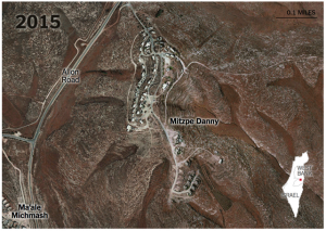foto aerea di Mitzpe Danny 2015